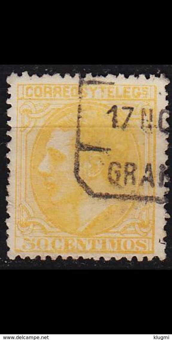 SPANIEN SPAIN [1879] MiNr 0182 ( O/used ) - 1875-1882 Königreich: Alphonse XII.