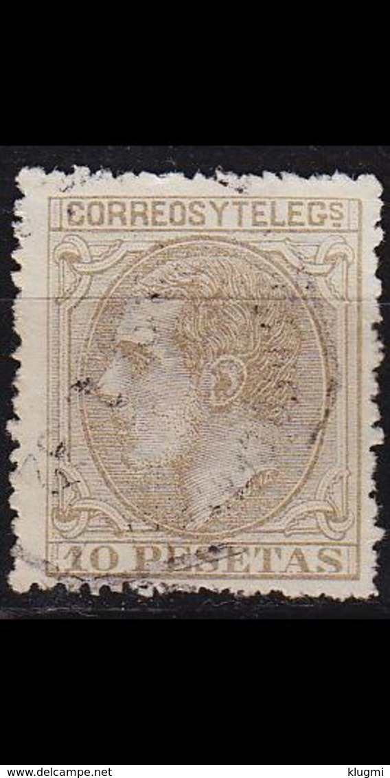 SPANIEN SPAIN [1879] MiNr 0185 ( O/used ) - 1875-1882 Königreich: Alphonse XII.