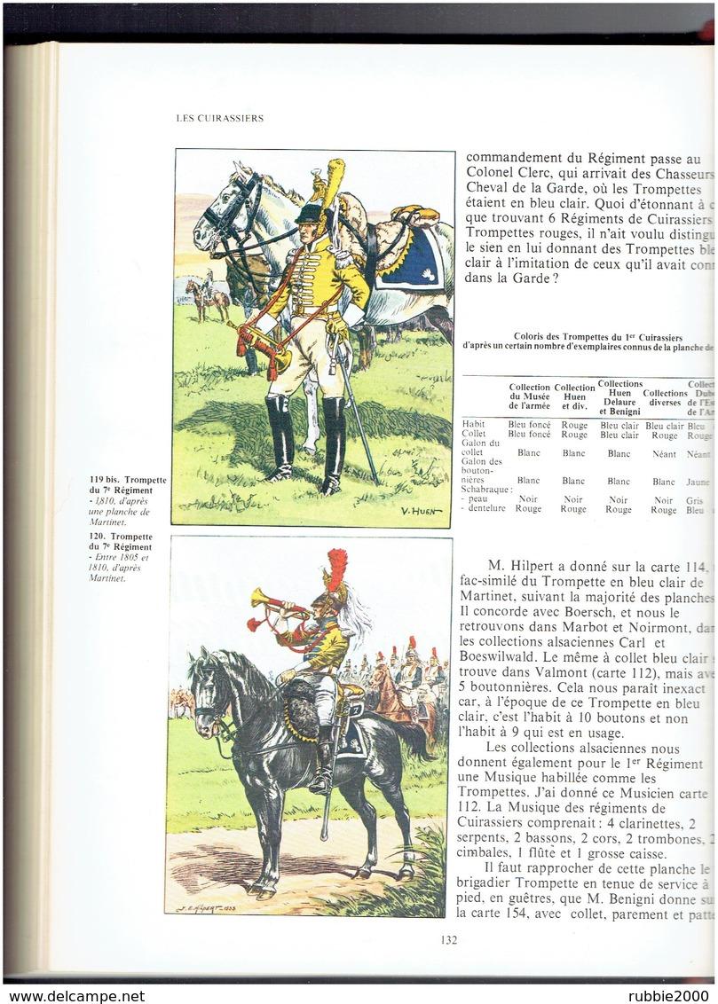 LES UNIFORMES DU PREMIER EMPIRE LES CUIRASSIERS PAR BUCQUOY REEDITION 1978 PAR GRANCHER - Uniforms