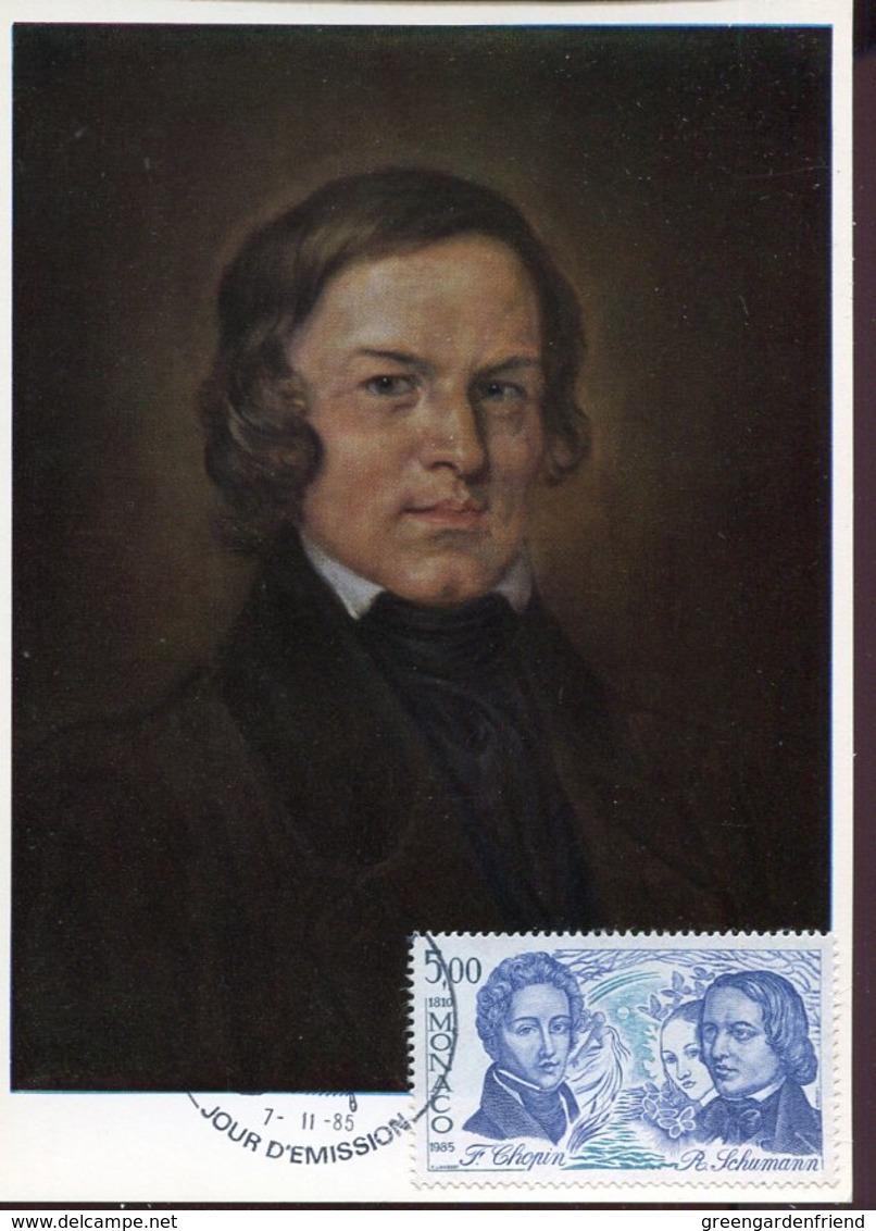 44895 Monaco, Maximum 1985 Music Composes Robert Schumann - Music