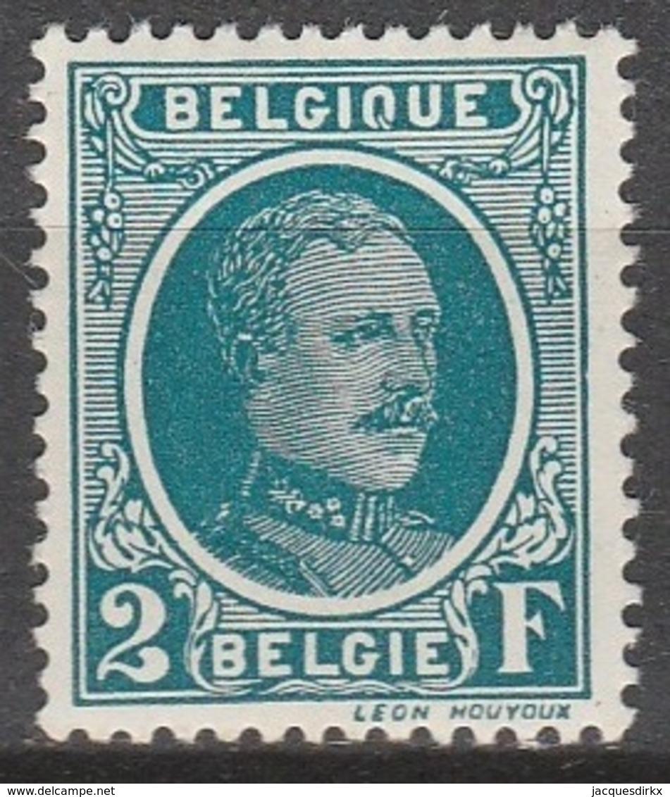 Belgie    .    OBP      .      208        .      **       .   Postfris    .  / .  Neuf Sans  Charniere - Belgique