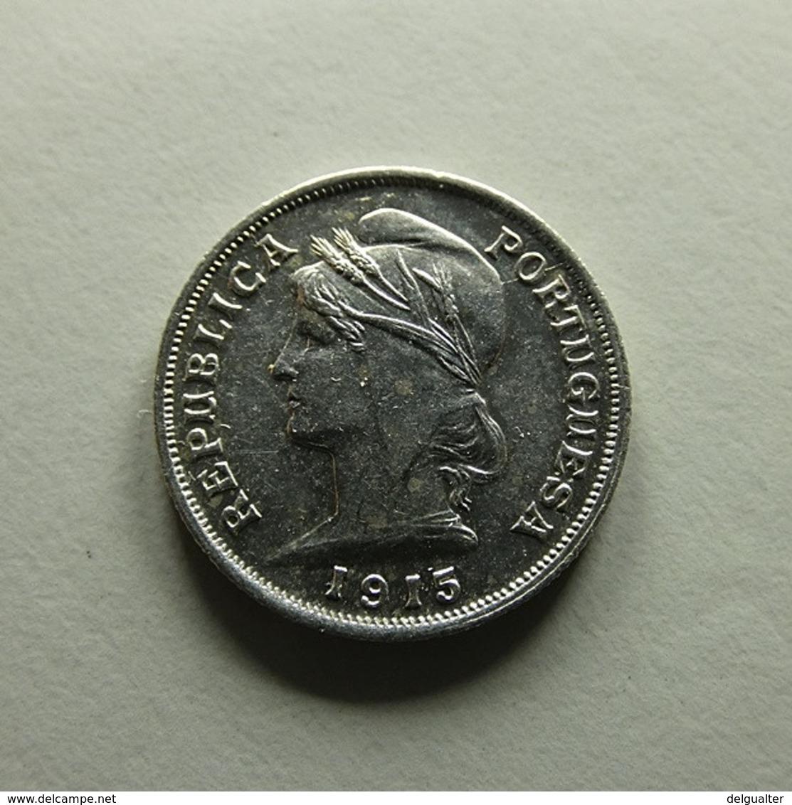 Portugal 10 Centavos 1915 Silver - Portugal