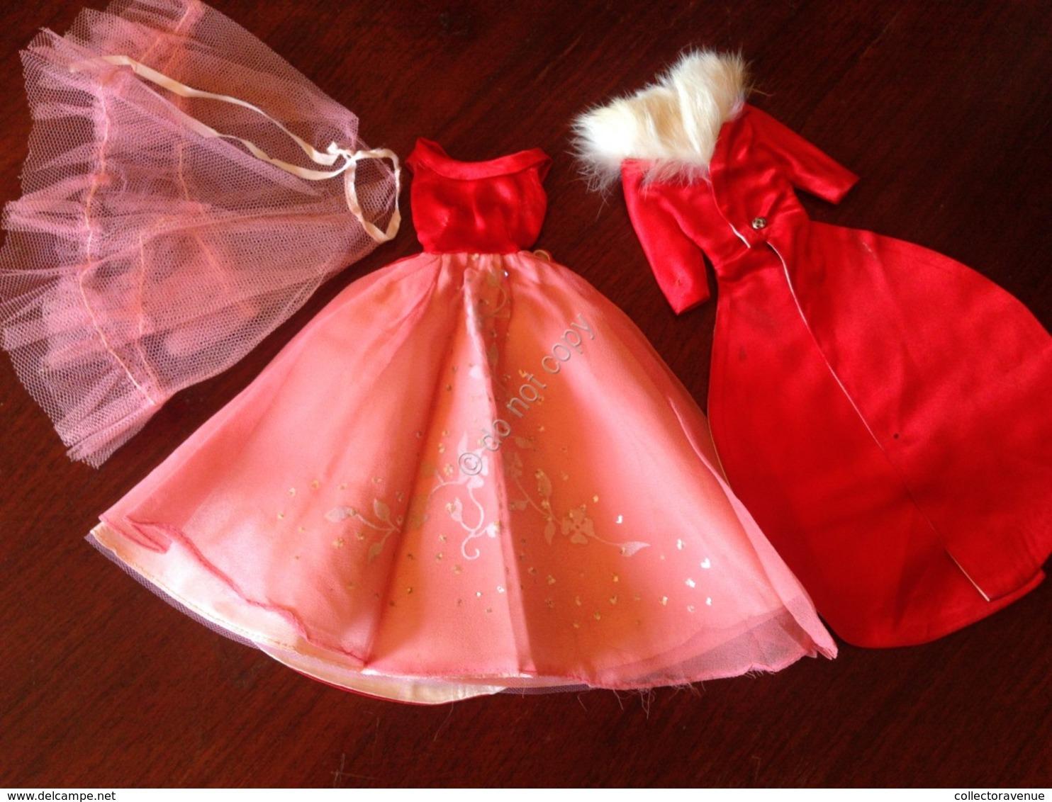 ORIGINAL BARBIE VINTAGE CLOTH # 1646 Magnificience 1965 - Barbie
