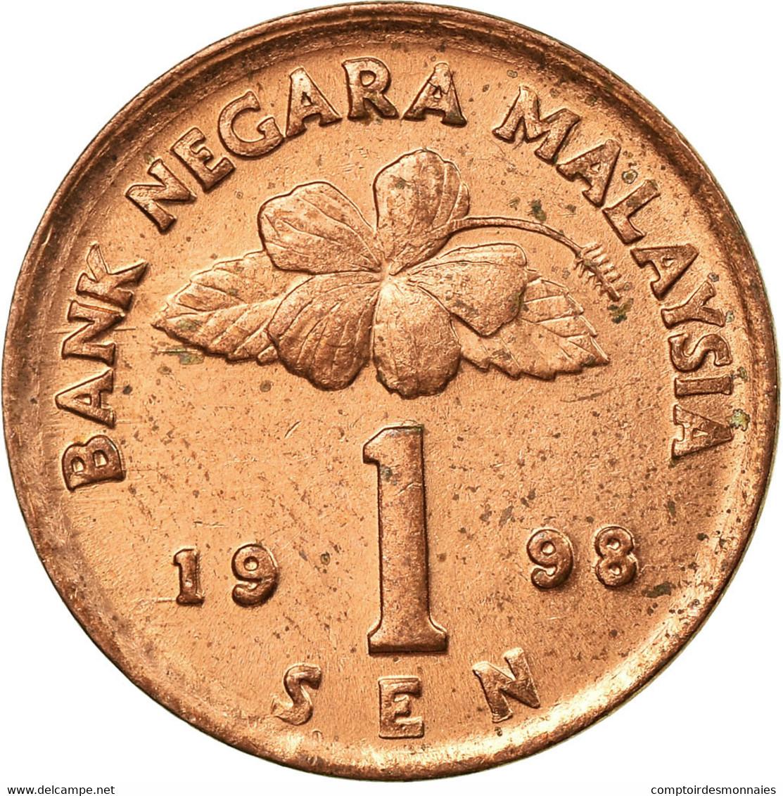 Monnaie, Malaysie, Sen, 1998, TTB, Bronze Clad Steel, KM:49 - Malaysie