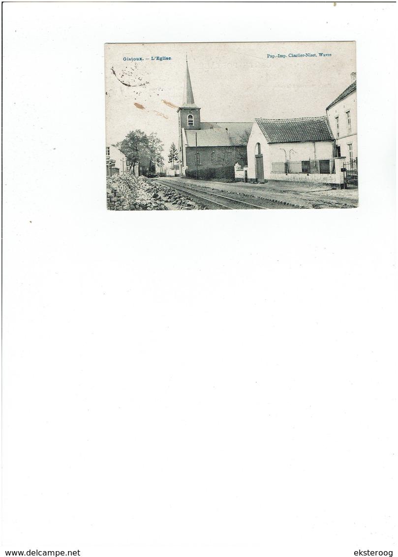 Gistoux - L'eglise - Chaumont-Gistoux