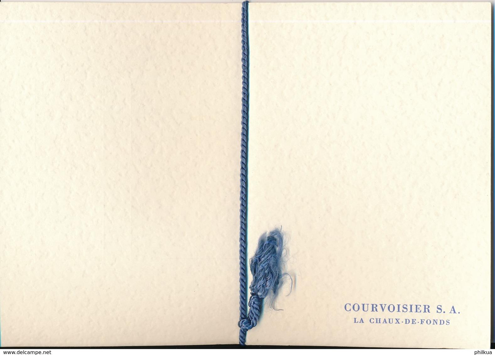 1952 Pro Juventute Volage Geschneksheft Von Courvoisier S.A. La Chaux De Fonds - Pro Juventute