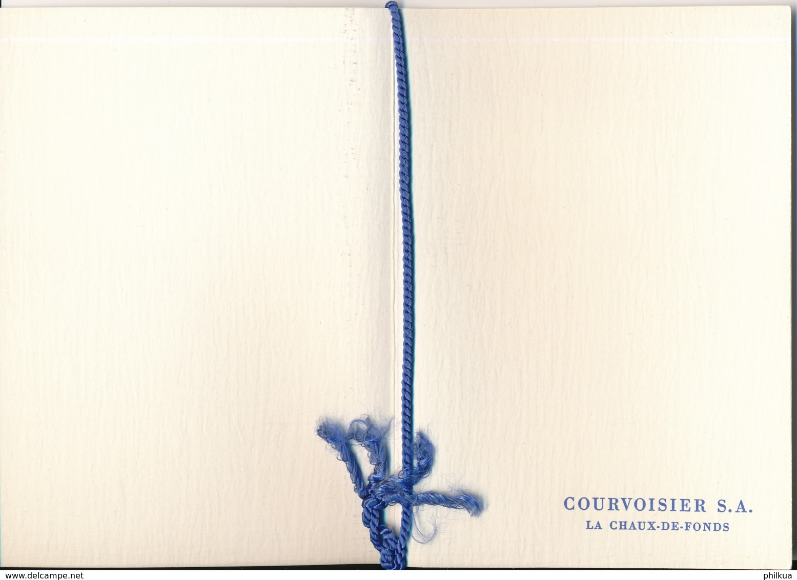 1958 Pro Juventute Vorlage Geschenkheft Von Courvoisier S.A. La Chaux De Fonds - Pro Juventute