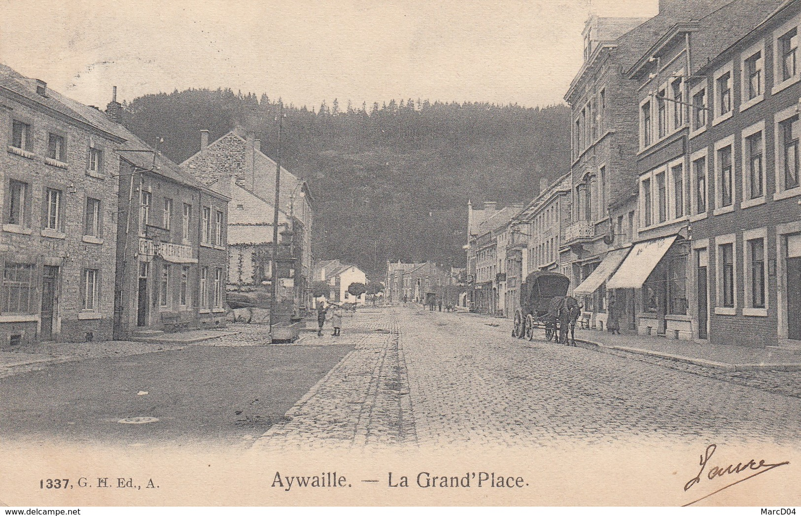 Aywaille:   Place Du Marché - Aywaille