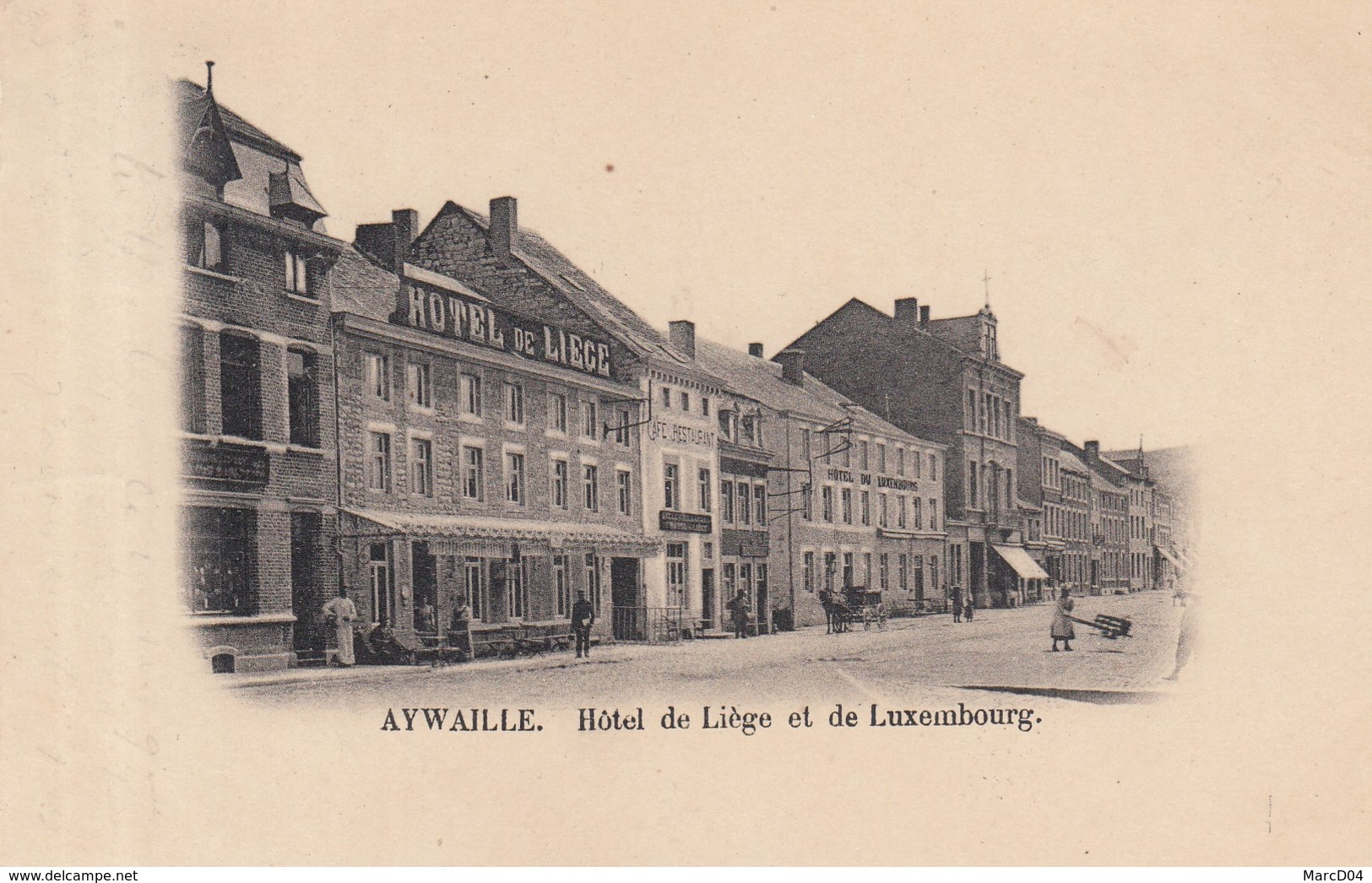 Aywaille:   Hôtel De Liège Et Du Luxembourg - Aywaille