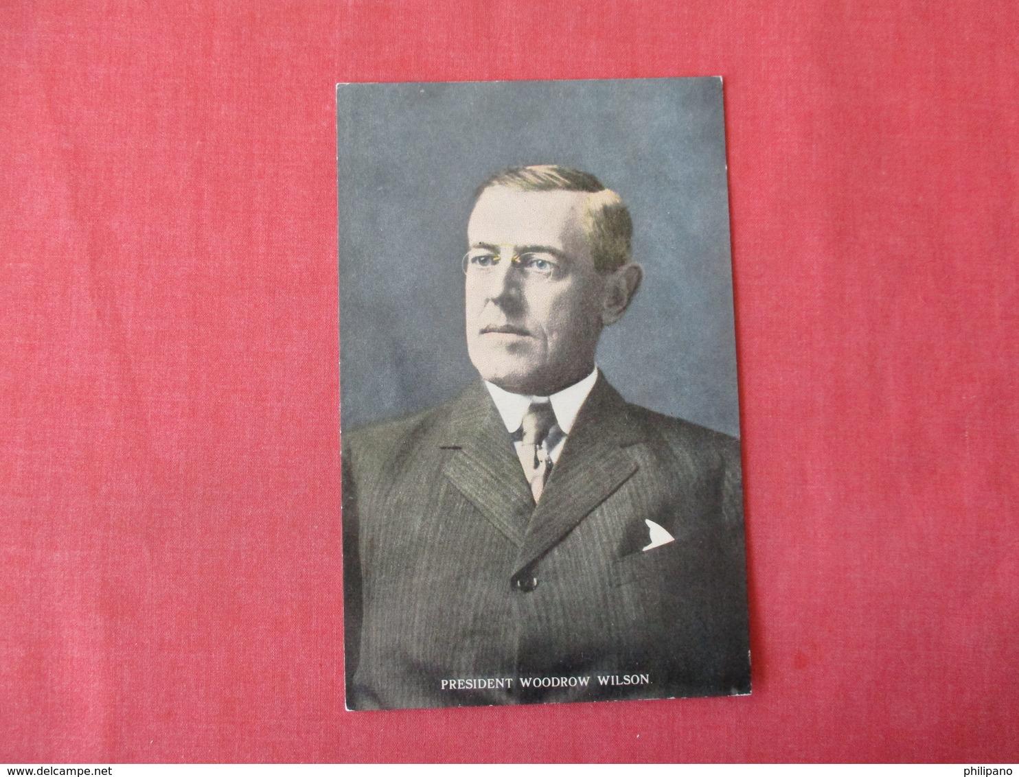 President Woodrow Wilson       Ref 3342 - Historical Famous People