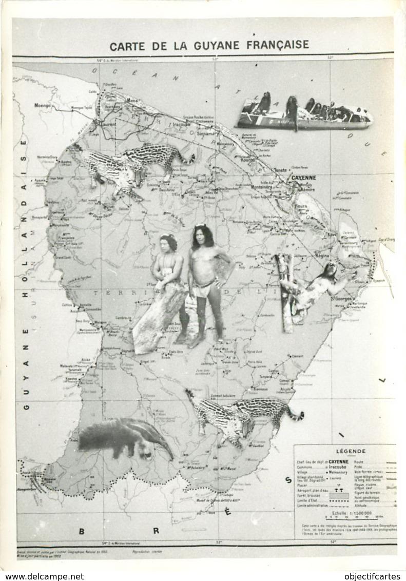 GUYANE FRANCAISE CARTE (scan Recto-verso) KEVREN0585 - Autres