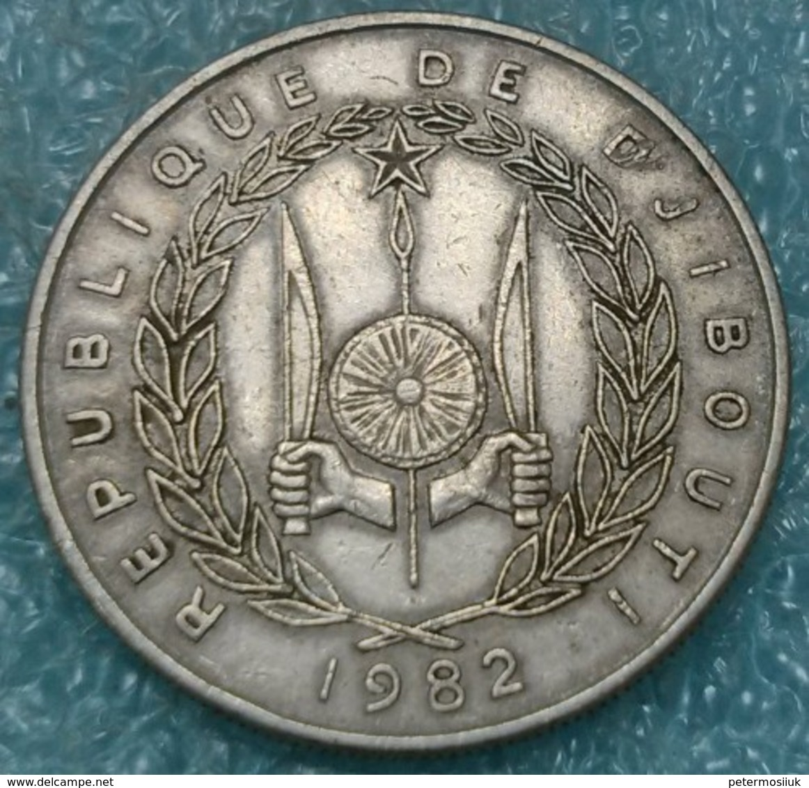 Djibouti 50 Francs, 1982 -4573 - Djibouti