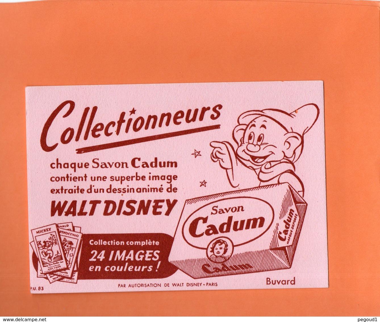 "BUVARD. SAVON "" CADUM "" MICKEY WALT DISNEY  Achat Immédiat - Buvards, Protège-cahiers Illustrés"