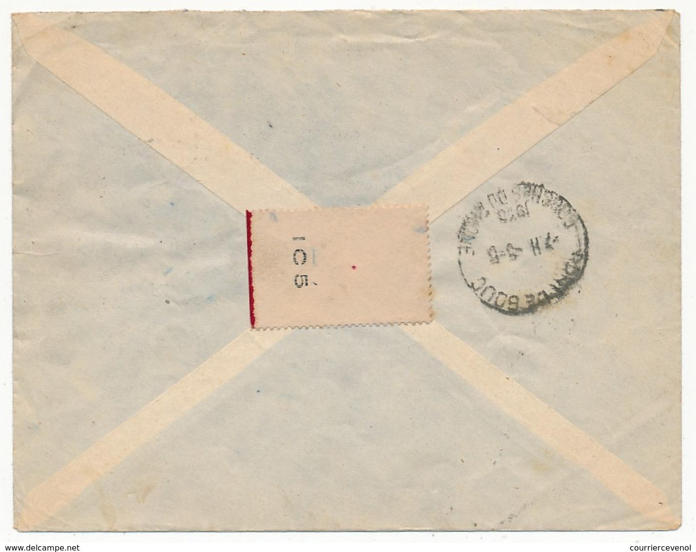 SENEGAL - Belle Enveloppe Affr. Composé - Dakar Sucoursale 1938 - Lettres & Documents