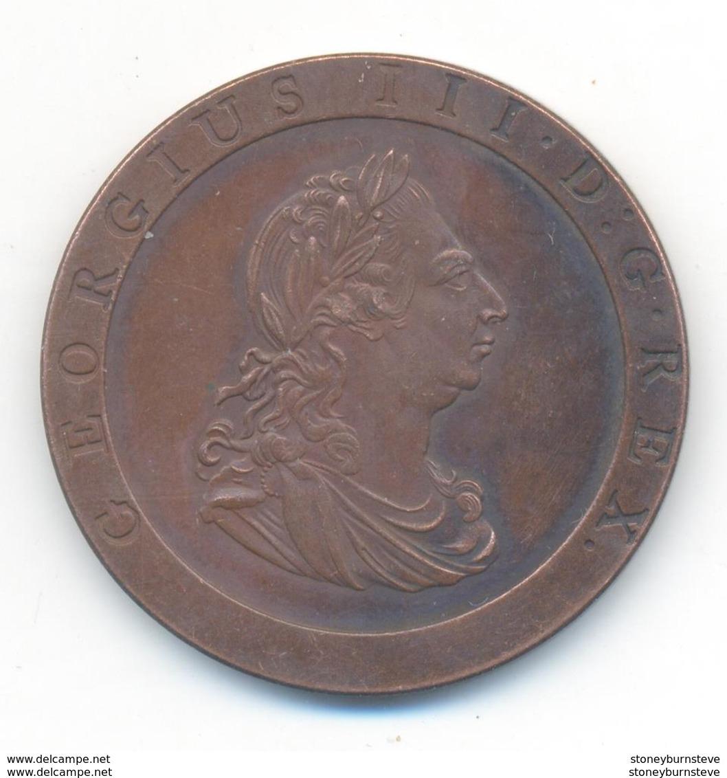 Great Britain George III Penny 1797 COPY - C. 1 Penny