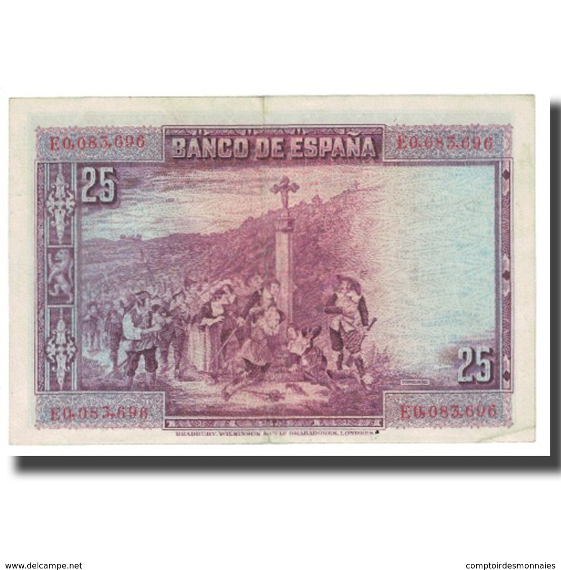 Billet, Espagne, 25 Pesetas, 1928, 1928-08-15, KM:74a, SUP - [ 1] …-1931 : Eerste Biljeten (Banco De España)