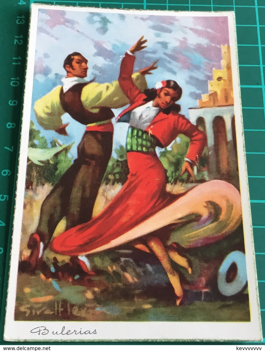 Bulerias ~ Artist Signed ~ Spanish Dance - Dances