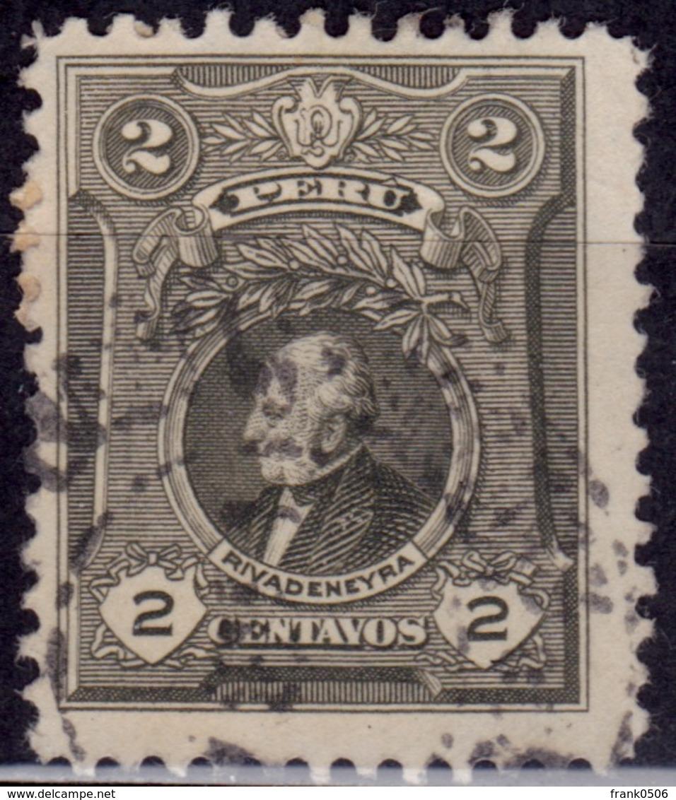 Peru 1924-29, Rivadeneyra, 2c, Sc#242, Used - Peru