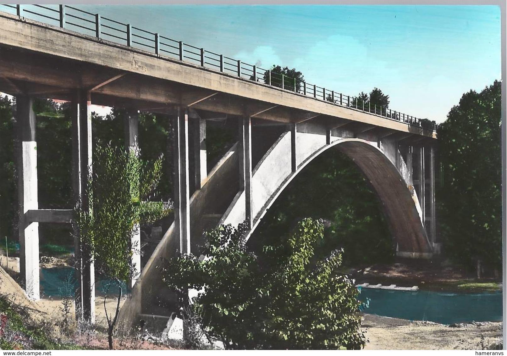 Poggio Mirteto - Nuovo Ponte Sul Fiume Farfa - Rieti - H4955 - Rieti