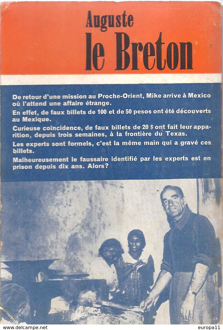 Livre Dédicacé Auguste Le Breton - Du RIFIFI Au Mexique - Livres, BD, Revues