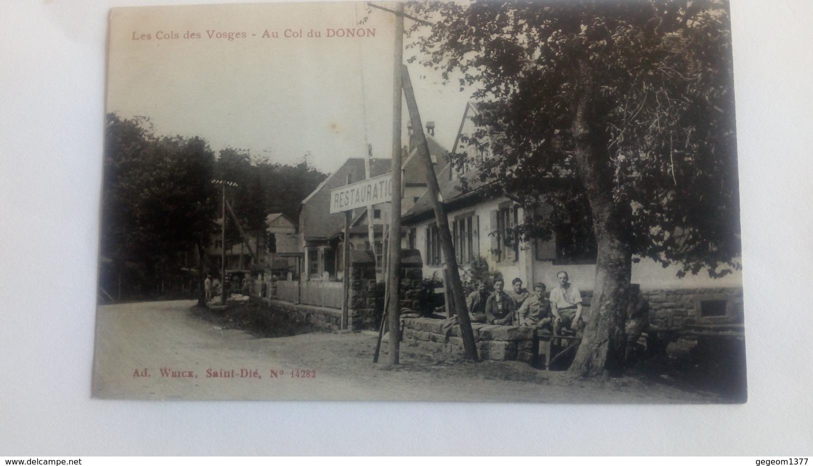Col Du Donon - France