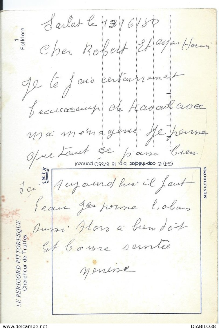 CHERCHEUR DE TRUFFES - Métiers