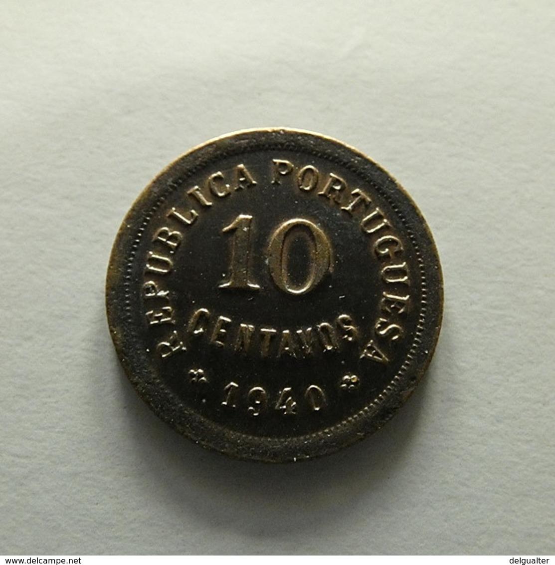 Portugal 10 Centavos 1940 - Portugal