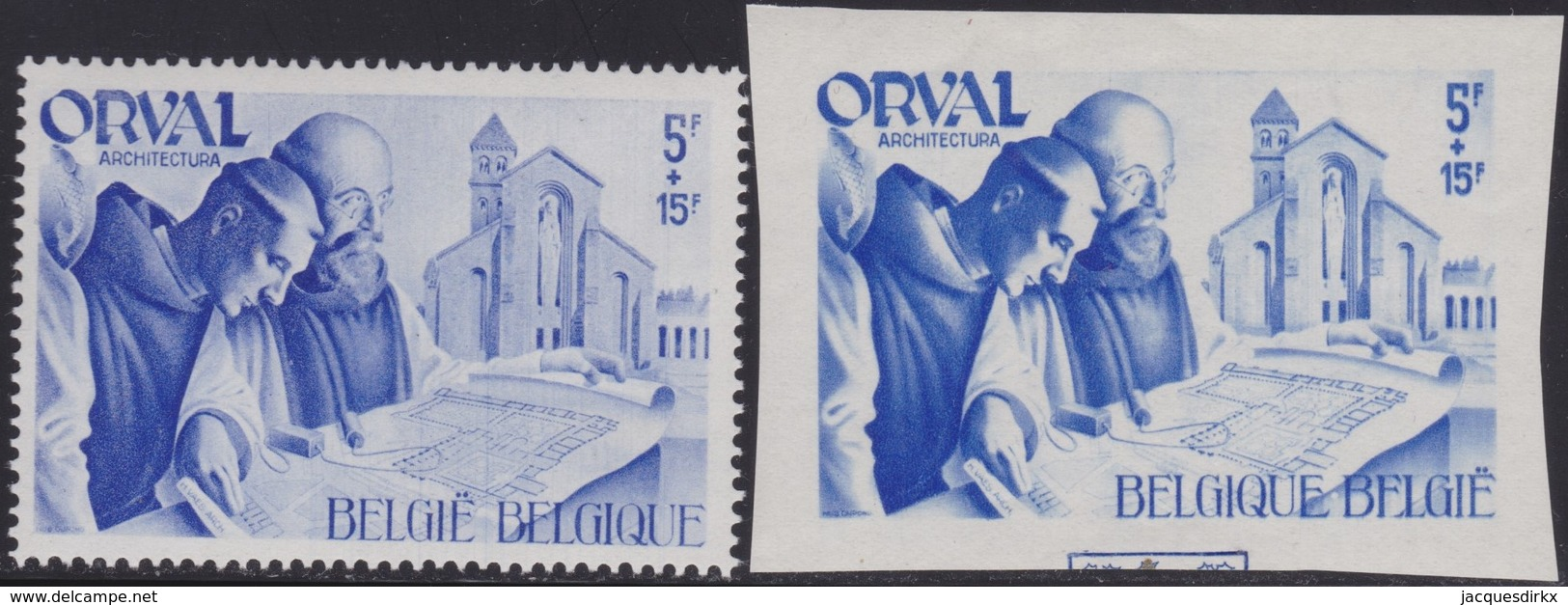 Belgie   .  OBP      .      567 A/B     .    **   .     Postfris    .  /   .  Neuf Sans Charniere - Bélgica