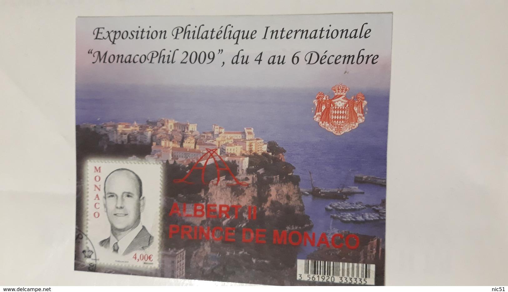 MONACO 2010 MONACOPHL 2009 USATO - Collections, Lots & Series