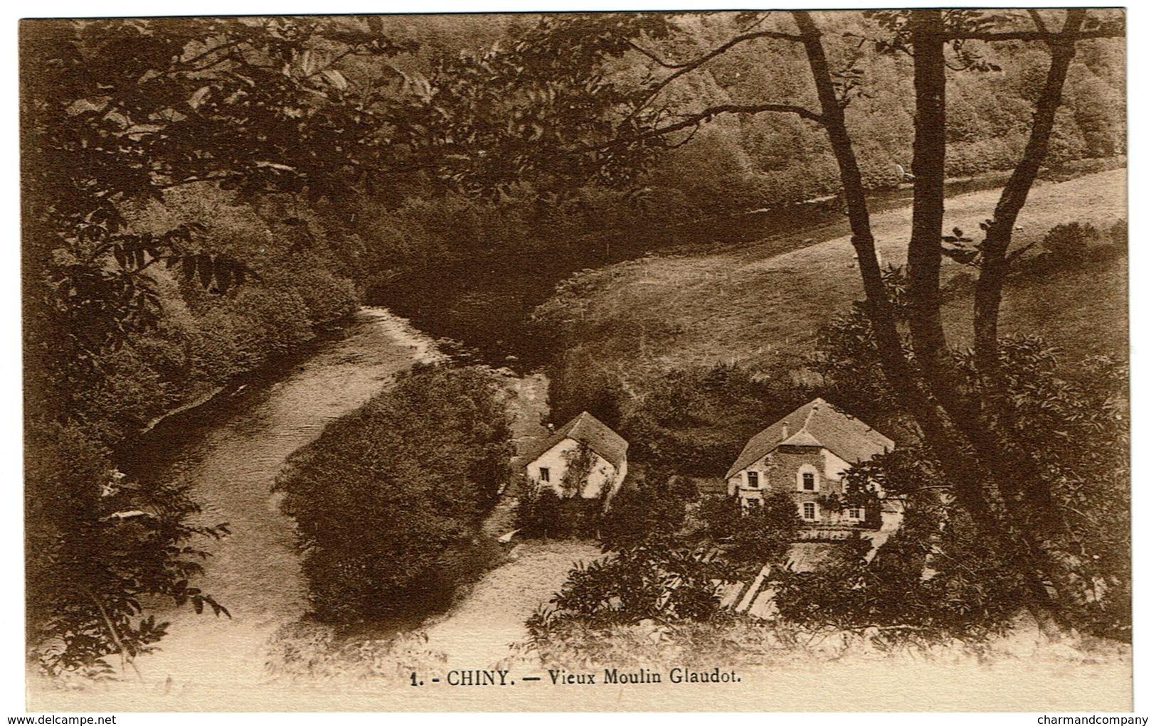 Chiny - Vieux Moulin Glaudot - Edition Longueville Florenville - 2 Scans - Florenville