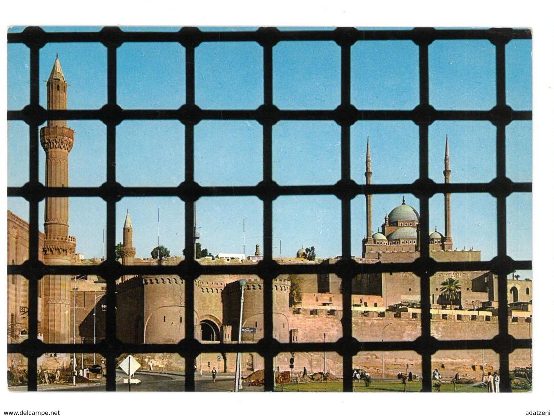 Egypt U.A.R. Cairo The Mohamed Aly Alabaster Mosque Non Viaggiata Condizioni Come Da Scansione - Cairo