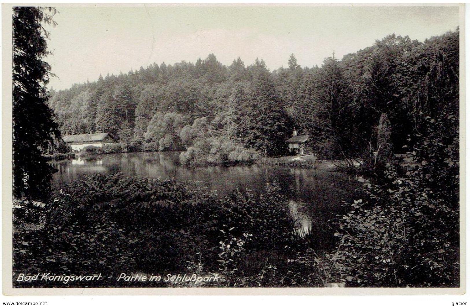 BAD KÖNIGSWART - Lázně Kynžvart - Sudetengau - Partie In Schlospark - 1942 - Sudeten