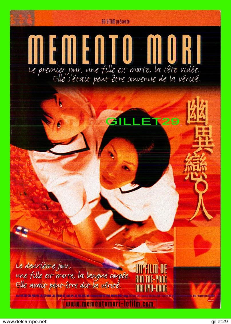 "AFFICHES DE FILM -  "" MEMENTO MORI "" BY KIM TRE-YONG & MIN KYU-DONG IN 2002 - - Affiches Sur Carte"