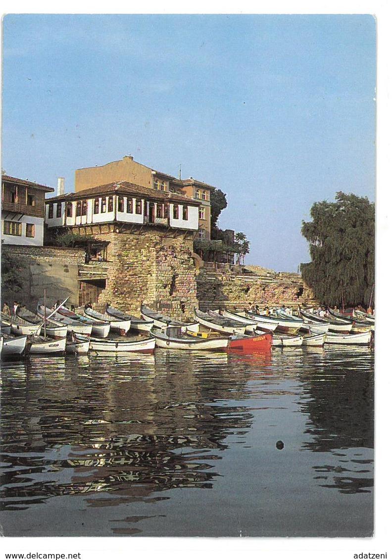 Bulgaria  Nessebyr Il Porto Der Hafen Non Viaggiata Condizioni Come Da Scansione - Bulgaria