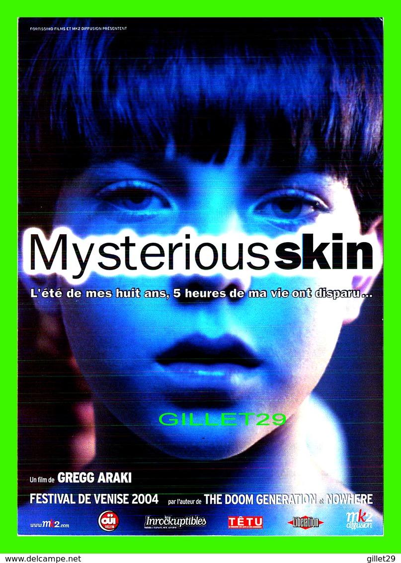 """AFFICHES DE FILM -  """" MYSTERIOUS SKIN """" FILM DE GREGG ARAKI EN 2004 - - Affiches Sur Carte"""