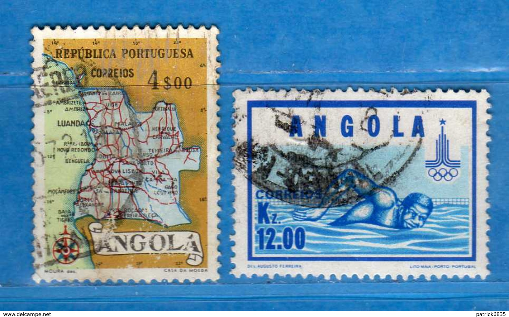 (Us.3) ANGOLA -° 1955-1980 - , Yvert . 386 - 624. . Used . Vedi Descrizione - Angola