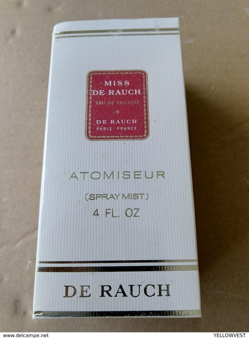 VINTAGE  MISS DE RAUCH EAU DE TOILETTE ATOMISEUR DE RAUCH 120 ML - Fragrances (new And Unused)