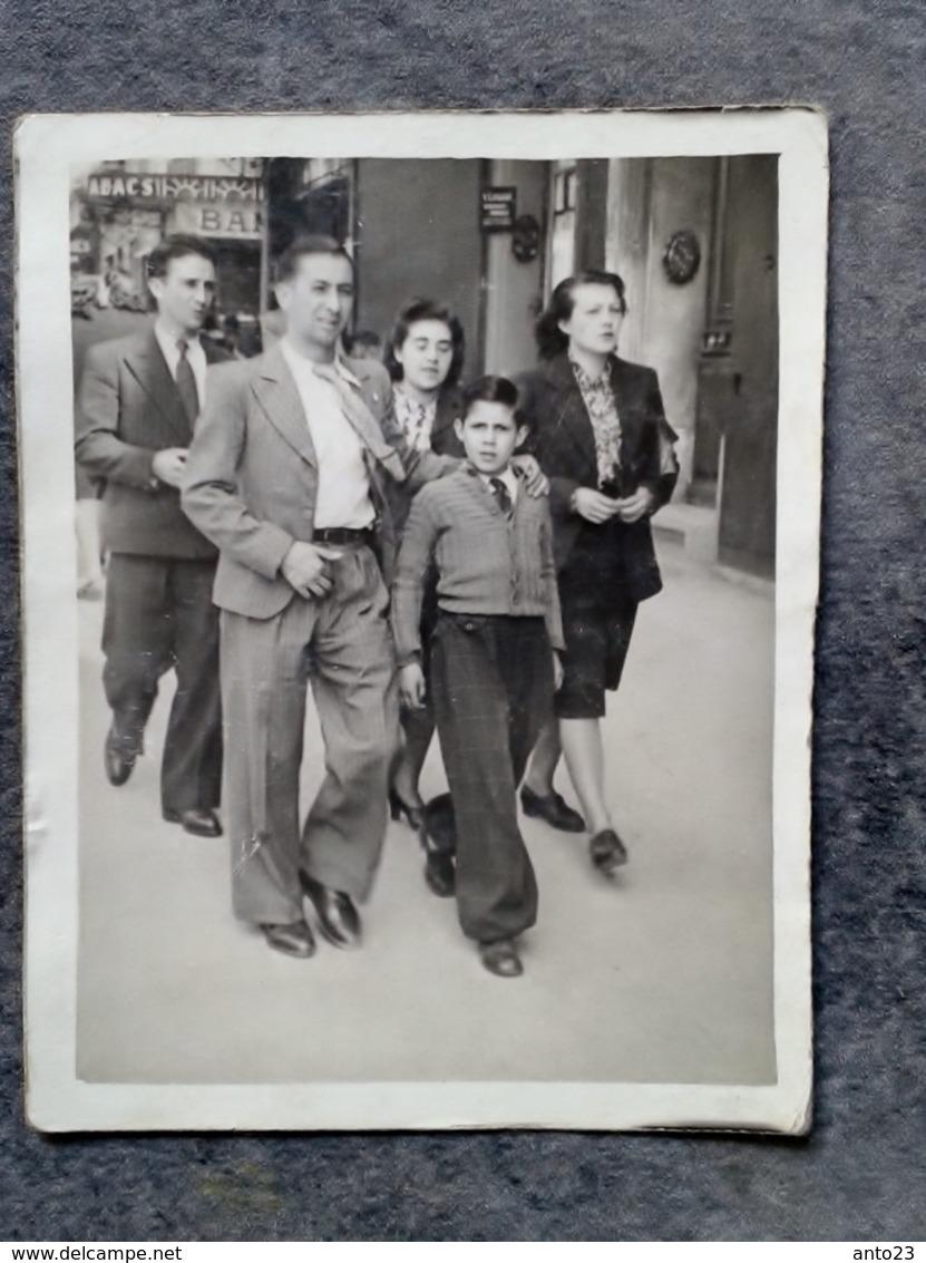 Les Marcheurs De La Canebiere Marseille 1939 - Photos