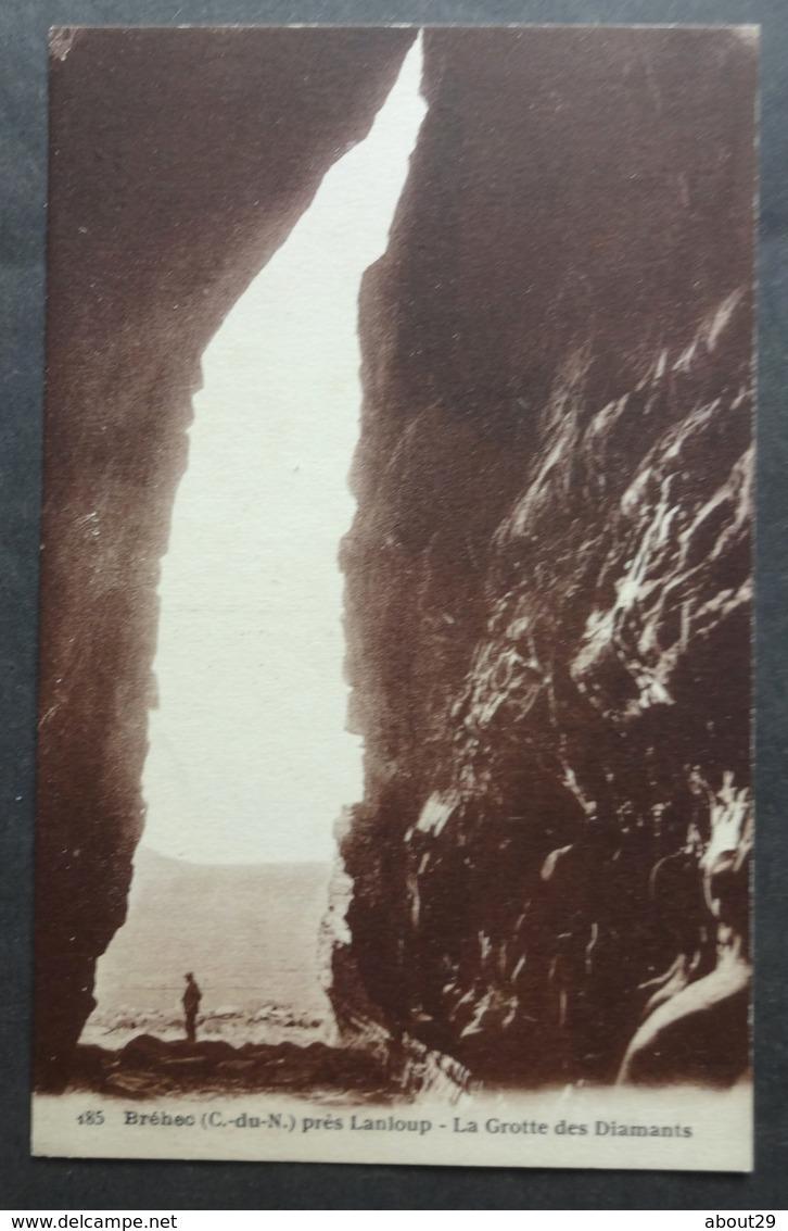 CPA 22 BREHEC Près LANLOUP ( PLOUHA ) - La Grotte Des Diamants - Edit. Photo Rapide 185 - Réf. V 199 - Plouha