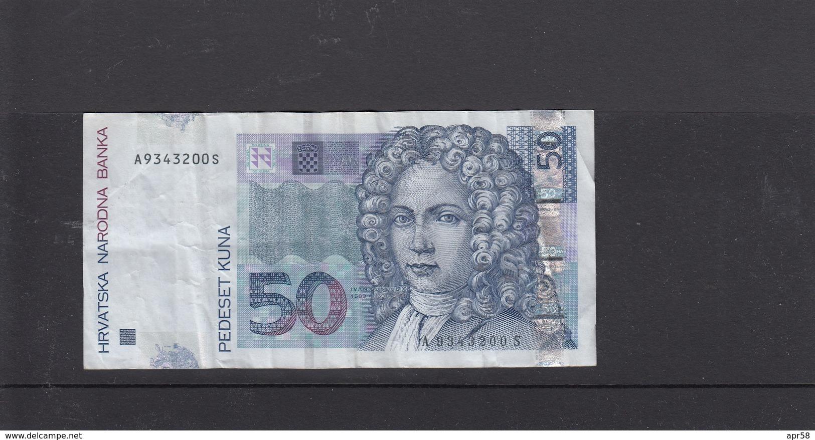 2012- 50 Kuna - Croatia