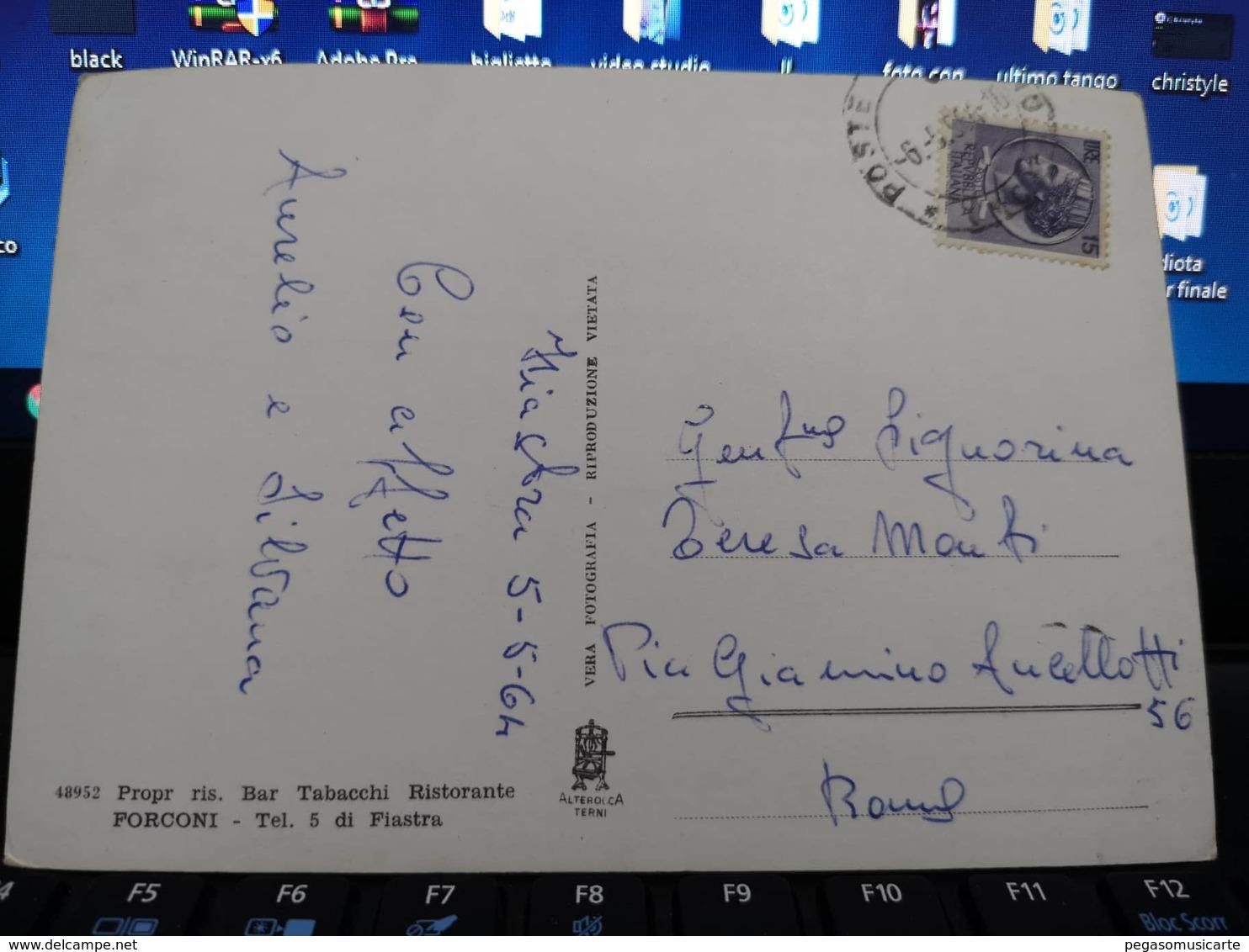 742 S LORENZO SUL LAGO FIASTRA LA SPIAGGIA SUL LAGO MACERATA ANIMATA FIAT 600 MULTIPLA 1964 - Macerata