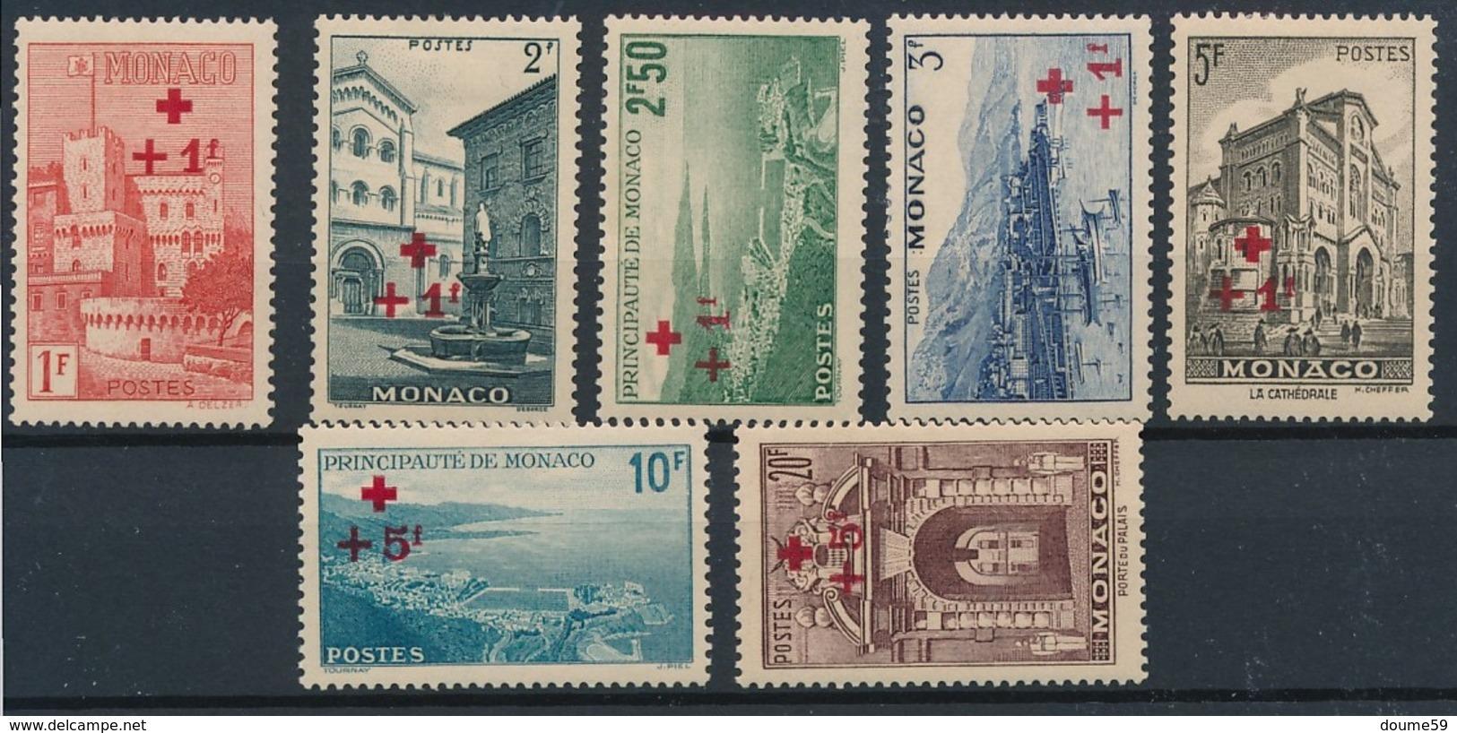 CT-24: MONACO: Lot Avec N°208/214* - Monaco