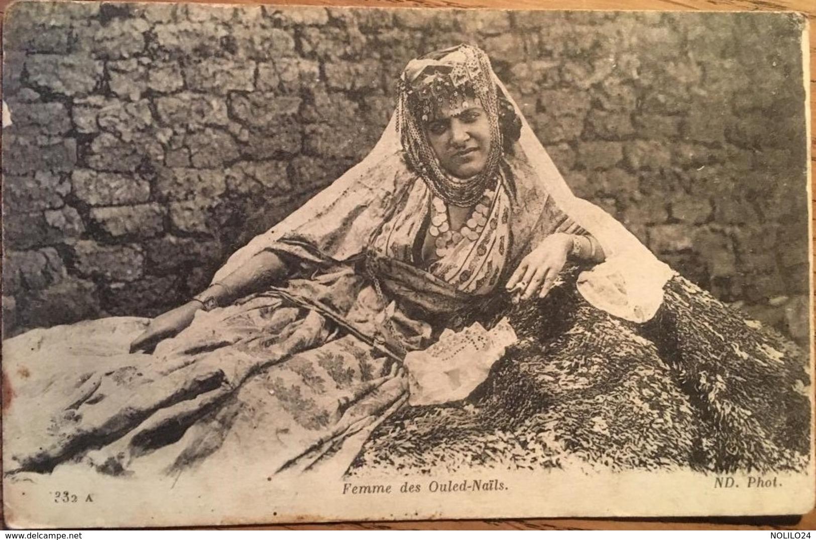 Cpa, Femme  Des Ouled-Naïls - Algeria
