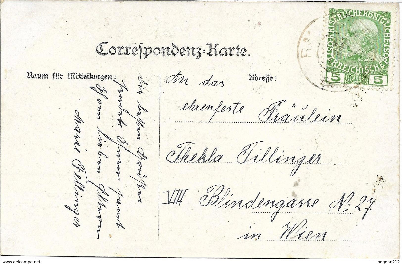 1908/12 - STRACHOTICE Okres ZNOJMO , Gute Zustand, 2 Scan - Czech Republic