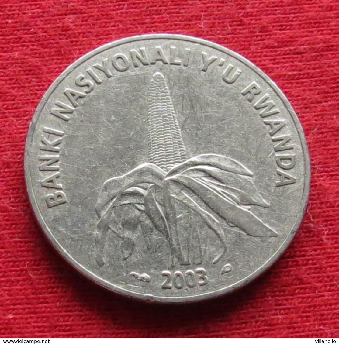 Rwanda 50 Francs 2003 KM# 26  Ruanda - Rwanda