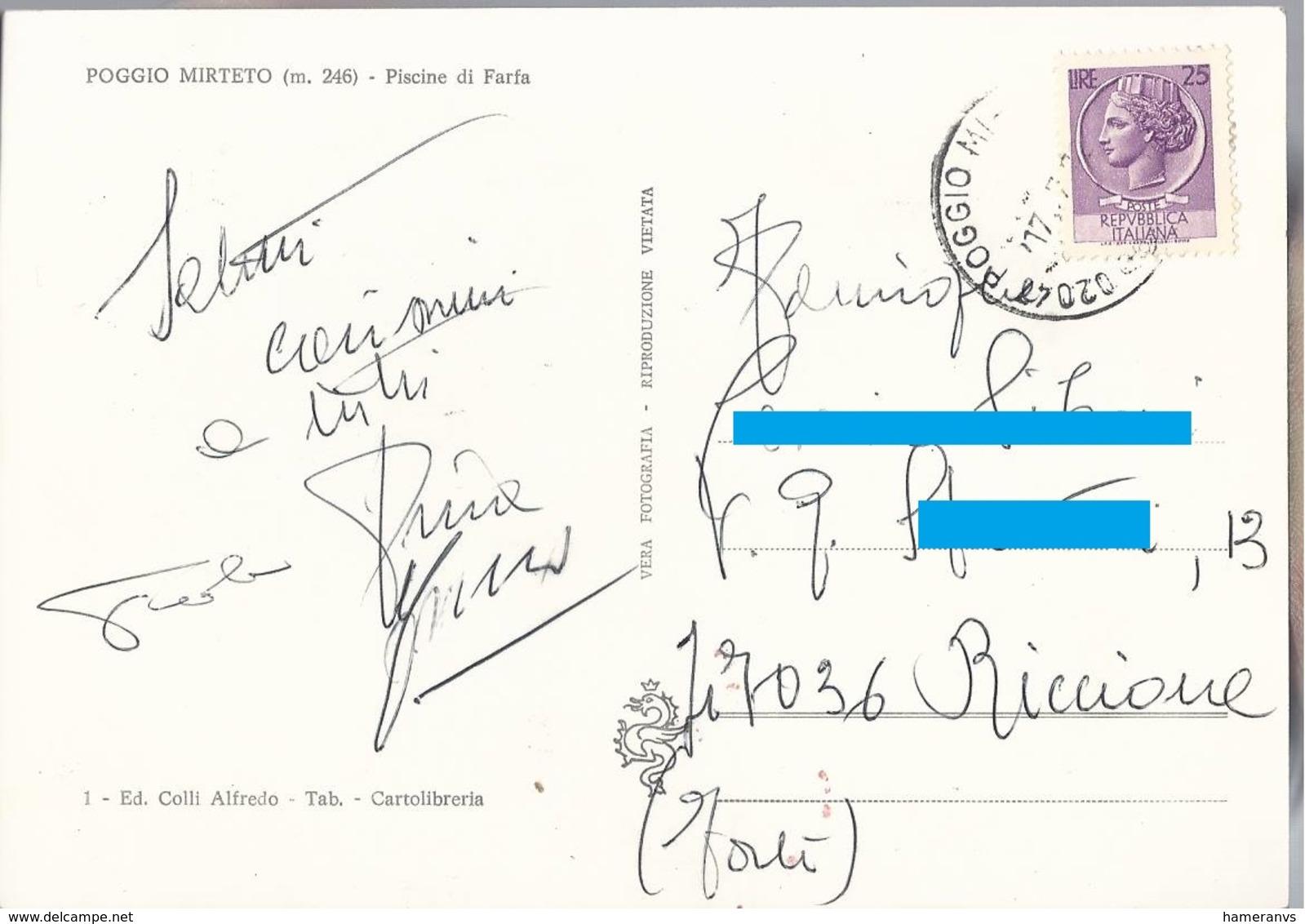 Poggio Mirteto - Piscine Di Farfa - Rieti - H5271 - Rieti
