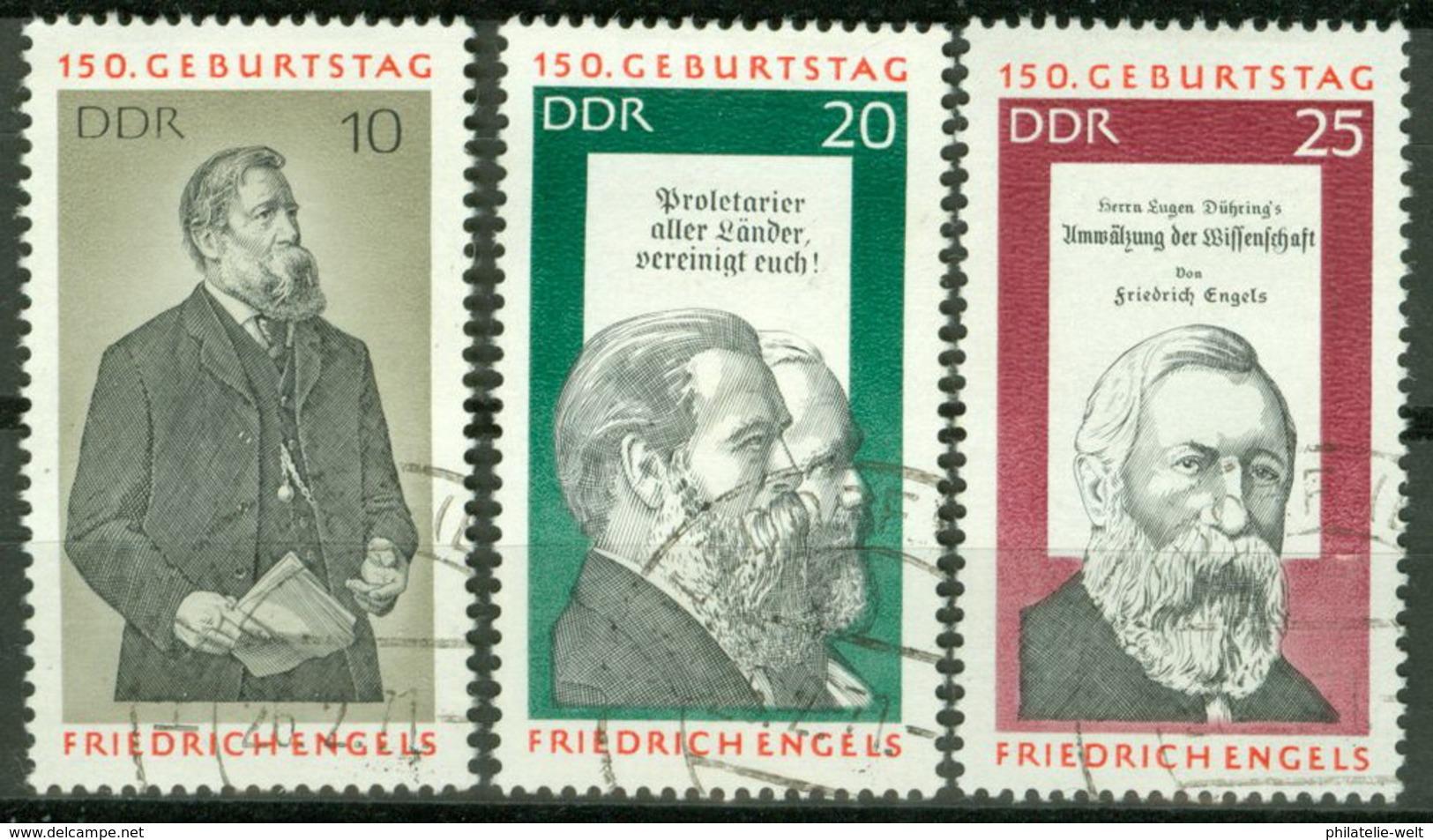 DDR 1622/24 O Tagesstempel - [6] République Démocratique