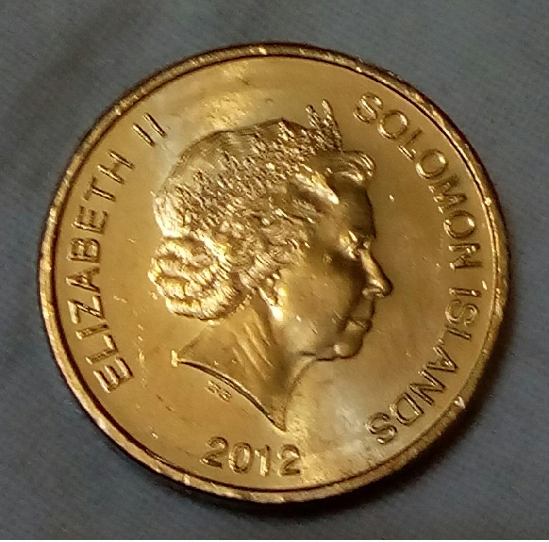 SOLOMON ISLANDS - 1 Dollar , 2012 , KM 238 - UNC , Agouz - Salomonen