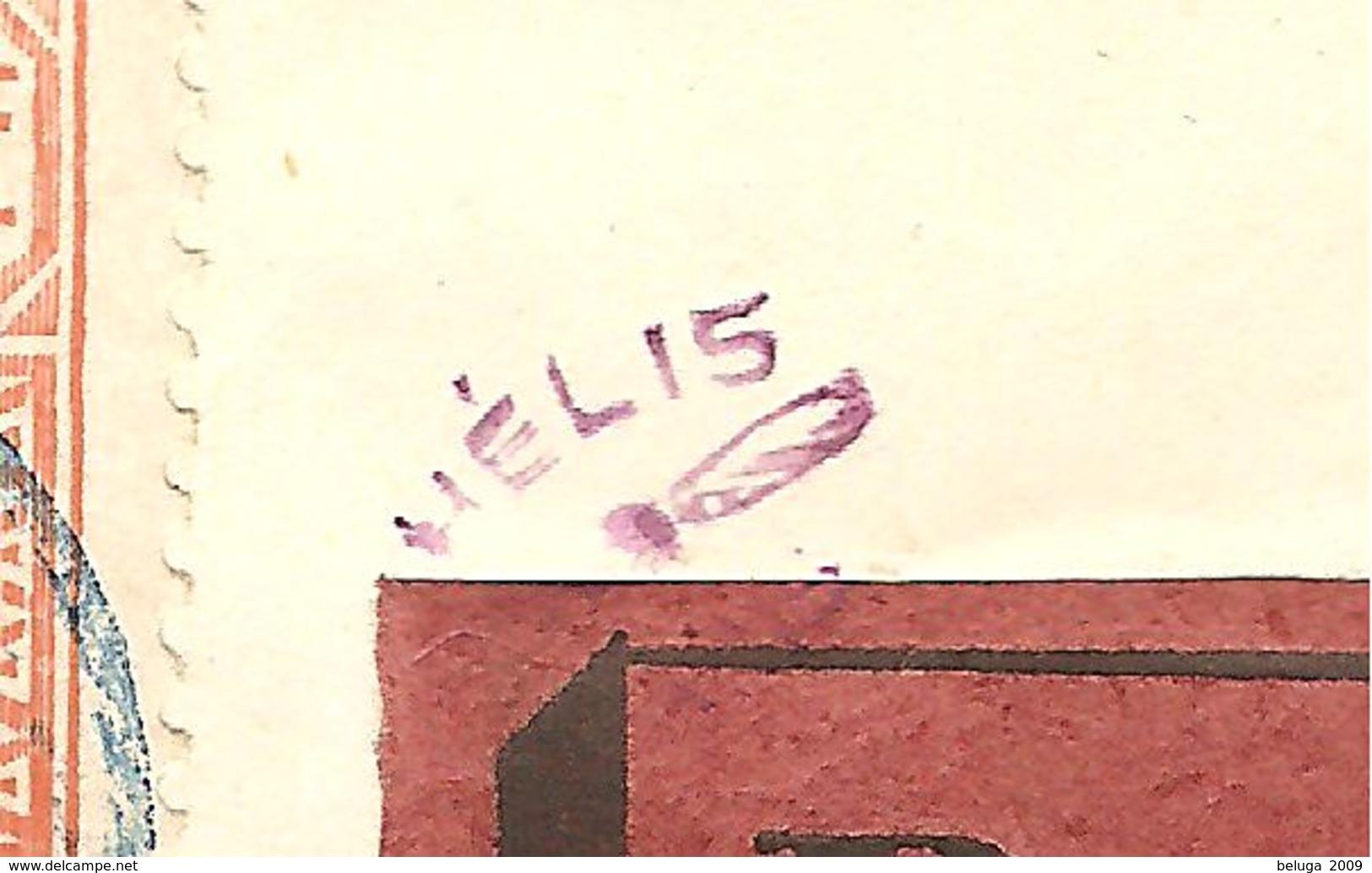 Mauritanie Mauritania Kaedi 1925 Registered Aeropostale Cover - Pli Recommandé - Timbres Senegal Stamps - To Henri Helis - Mauritanien (1906-1944)