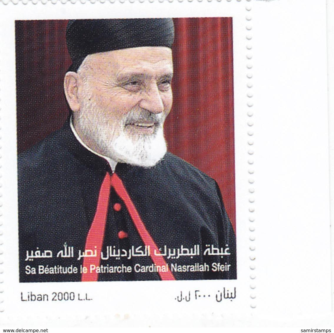 Lebanon-Liban New Issue 2018, Cardinal Nassralah Sfeir 1v.complete Set MNH - SKRILL PAYMENT ONLY - Lebanon